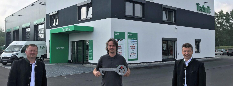 Neues BayWa-Technikzentrum im sächsischen Neumark