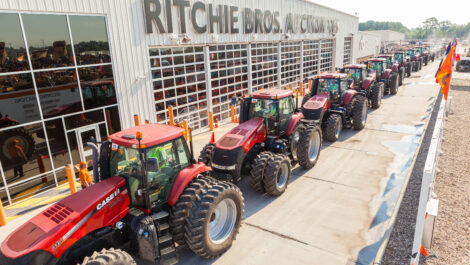 Ritchie Bros. führt aufgrund Corona reine Online Auktion durch