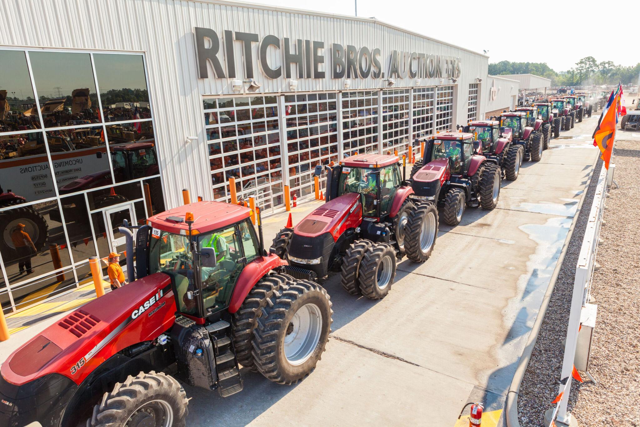 Ritchie Bros. Auktion |copyright: Ritchie Bros.