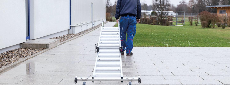 Neue Stufenleitern der Günzburger Steigtechnik