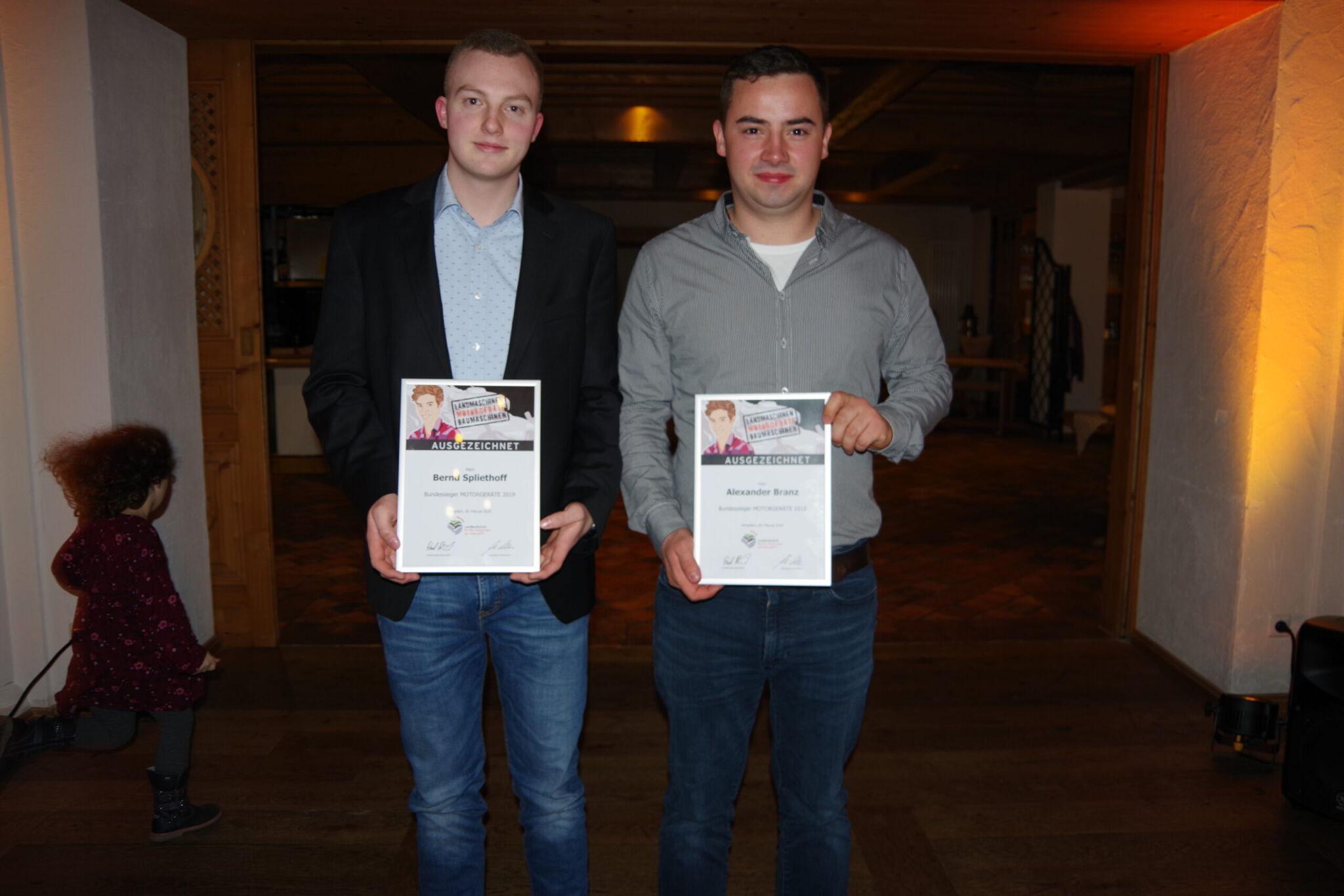 (v.l.) Bernd Spliethoff und Alexander Branz  copyright: Werkbild