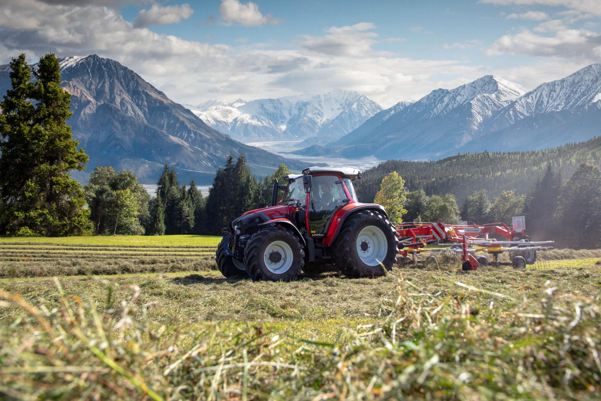 Neue Lintracs mit Lastschaltung|copyright: Lindner Traktoren