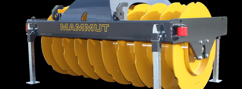 Mammut präsentiert Silage-Verdichtungswalzen
