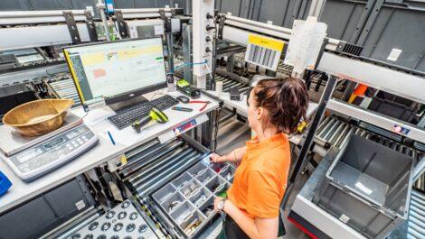 Amazone eröffnet neues Ersatzteilzentrum