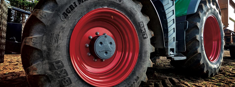 BKT bringt neue Agrimax V-Flecto-Größen auf den Markt
