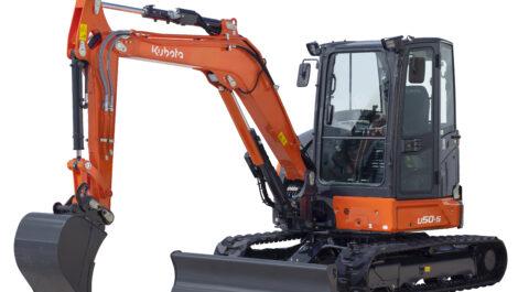 Kubota: neuer Kurzheckbagger U50-5