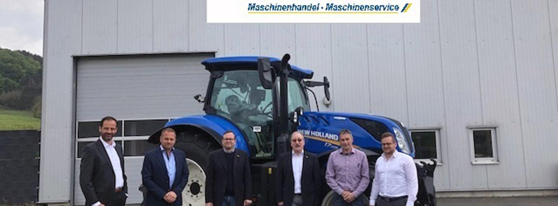 Neuer New Holland-Vertriebspartner: Helmut Schreiner KG