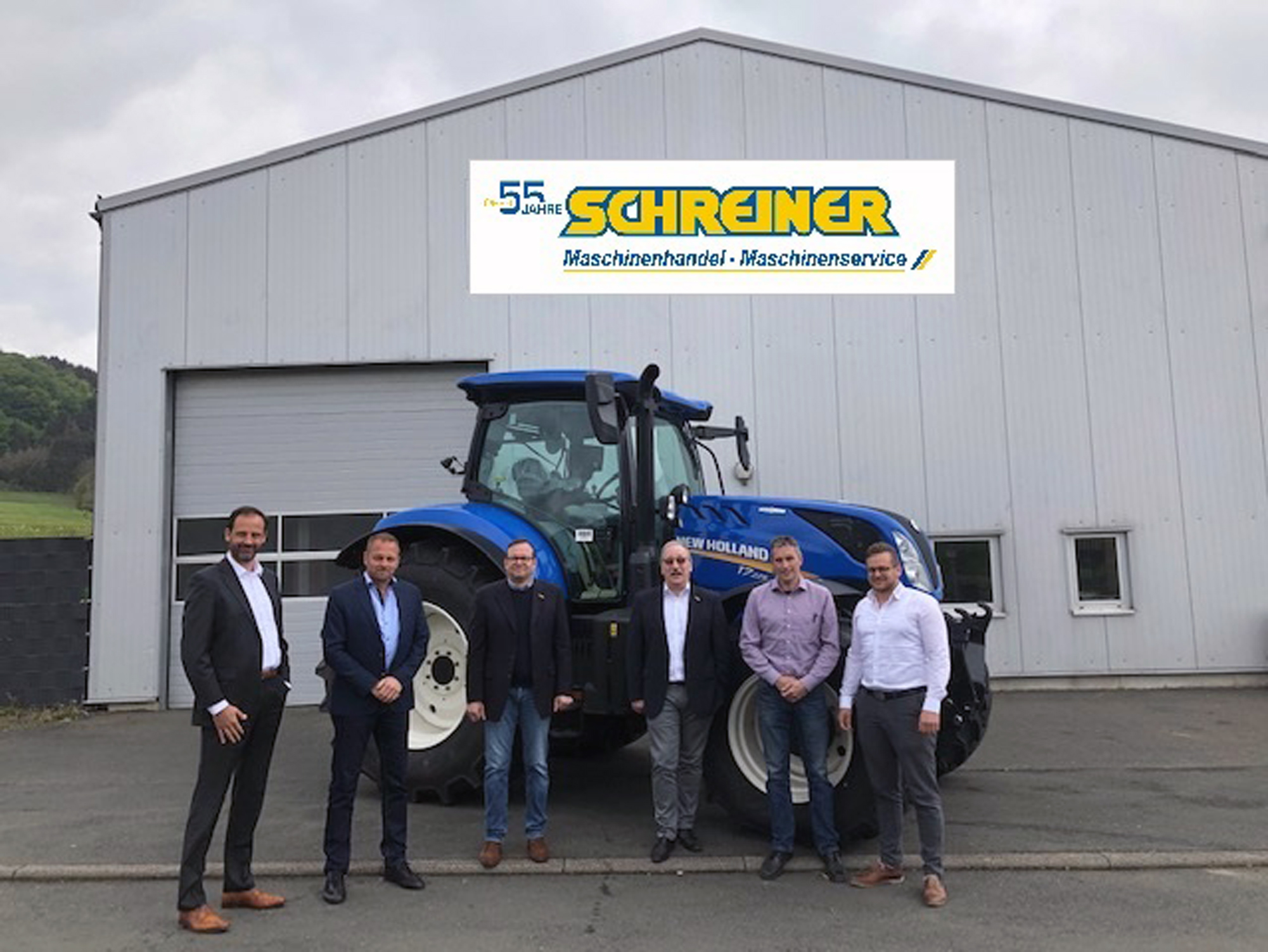 Neuer New Holland-Vertriebspartner: Helmut Schreiner KG|copyright: New Holland