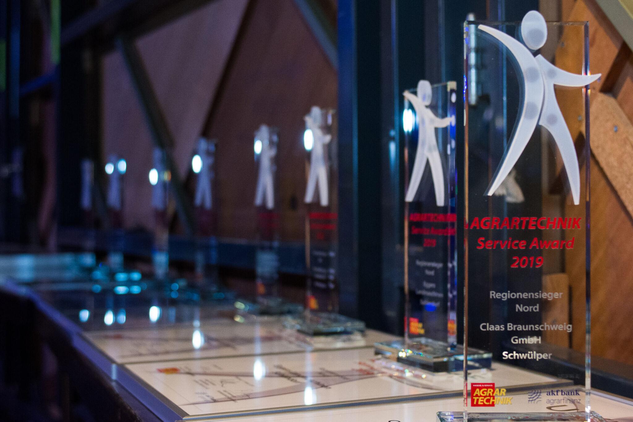 AGRARTECHNIK Service-Award |copyright: Michael Palm für AGRARTECHNIK