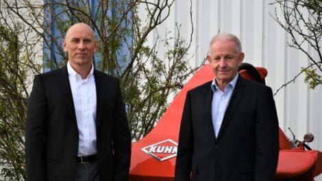 Geschäftsführerwechsel in der deutschen Kuhn Niederlassung