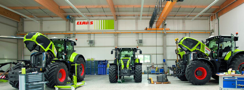 Claas erhöht Beteiligung an E-Farm