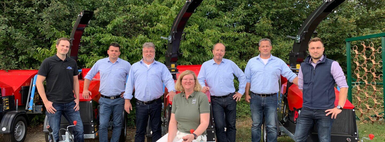 Vogt: TP-Holzhacker über RWZ Kommunal vertrieben