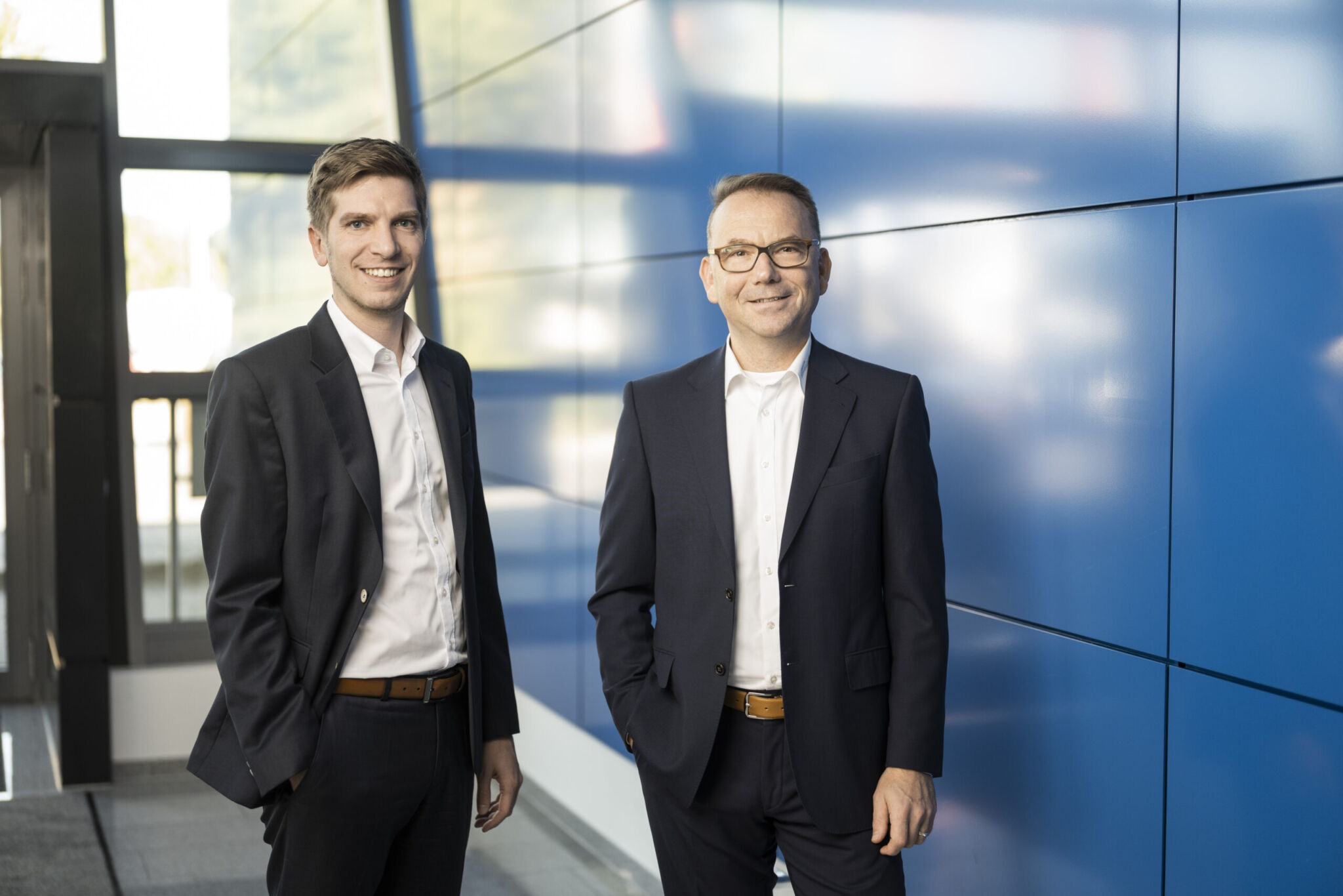 Jens Schumacher (li.) und Arno Dittmar|copyright: Werkbild