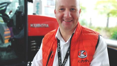 Neuer Kubota Gebietsverkaufsleiter Nord für Ersatzteile