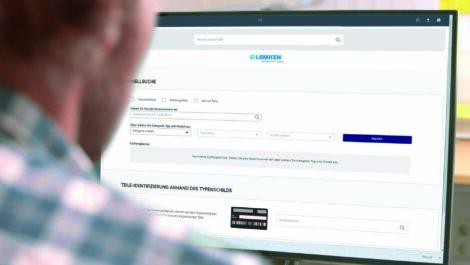 Lemken mit neuem Ersatzteil-Online-Vertriebskanal