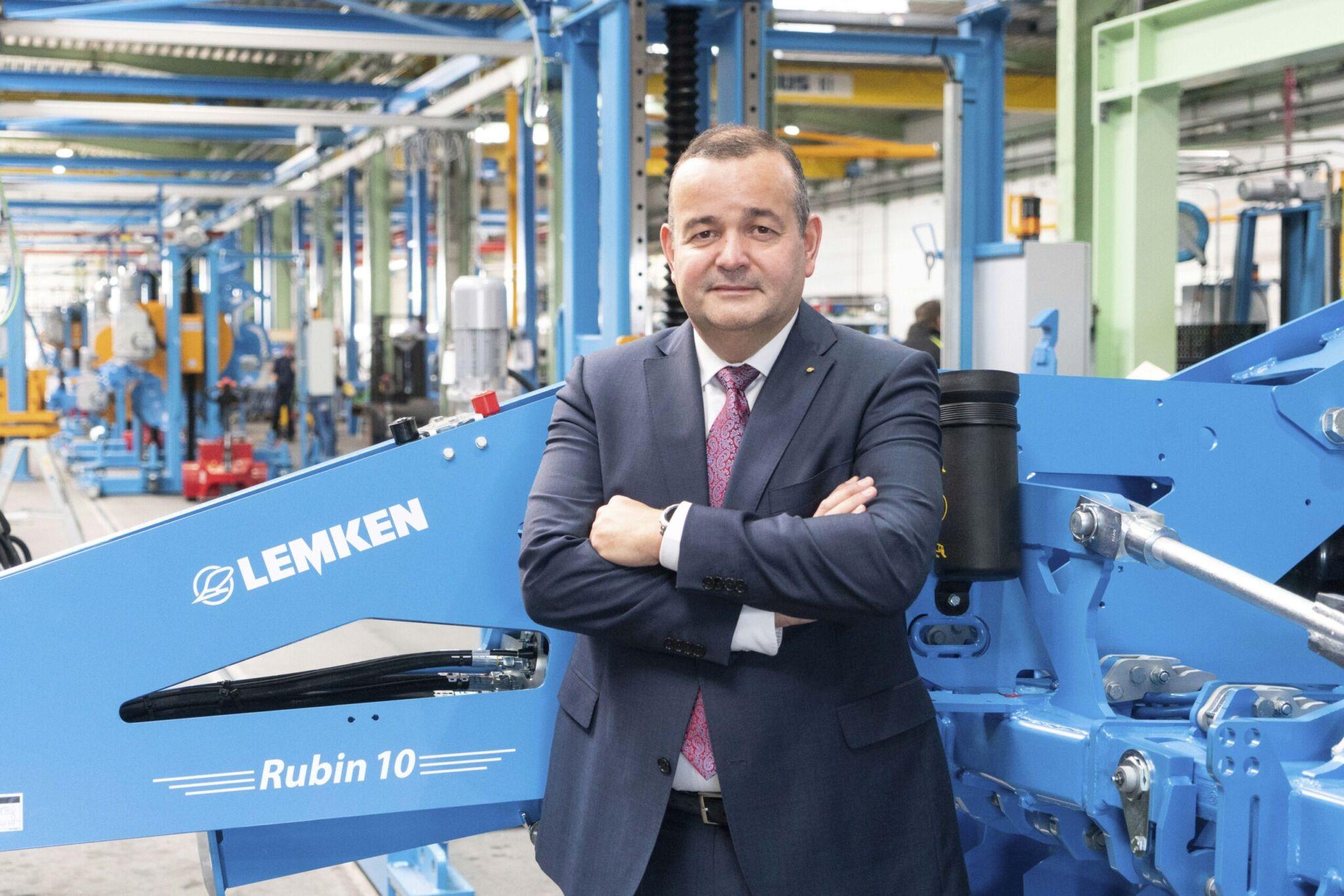 Lemken Geschäftsführer van der Ley |copyright: Lemken