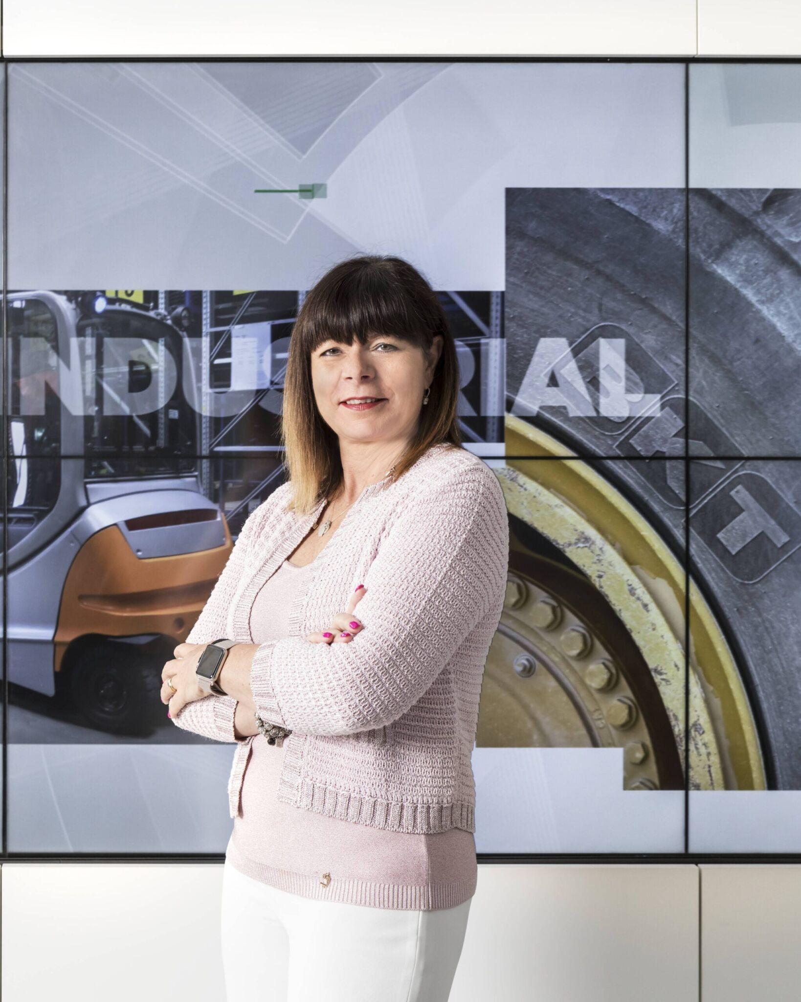 Lucia Salmaso, CEO von BKT Europe|copyright: Werkbild