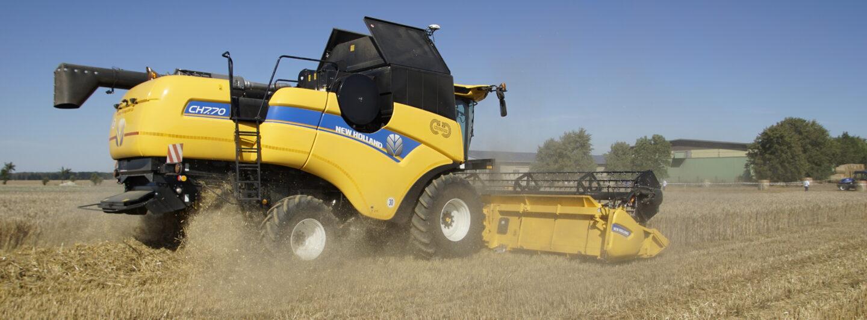 New Holland mit neuer Mähdrescherbaureihe CH (Crossover Harvesting)