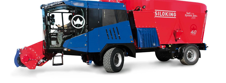 Siloking erweitert Selbstfahrerfuttermischwagen-Palette