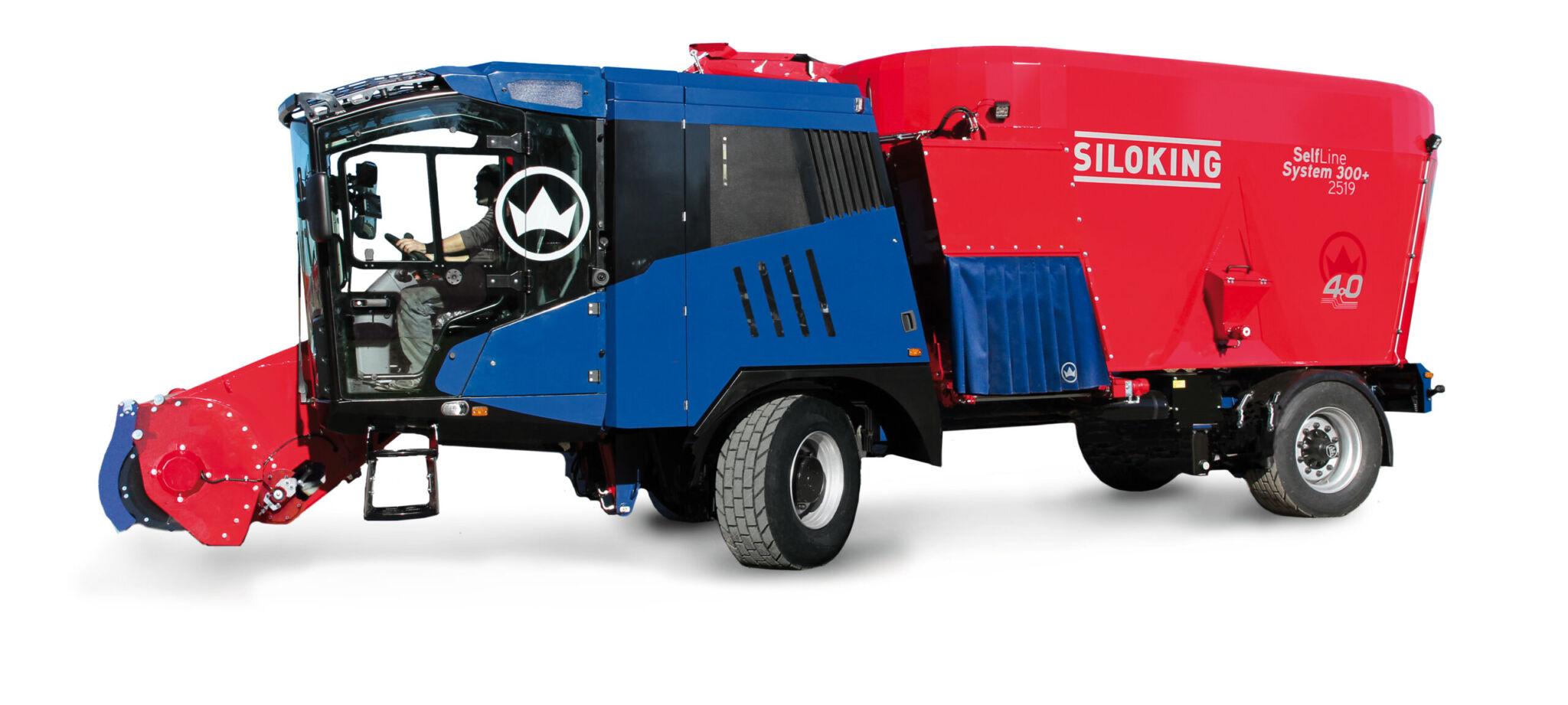 Siloking Futtermischwagen 300+|copyright: Werkbild