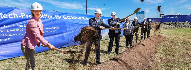 Ziehl-Abegg erweitert Produktion für energiesparende Ventilatoren