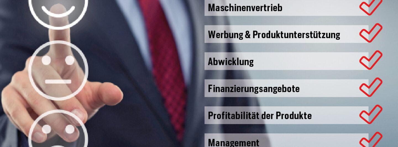 Händlerzufriedenheit Landmaschinenfabrikate: Auf zur nächsten Runde!