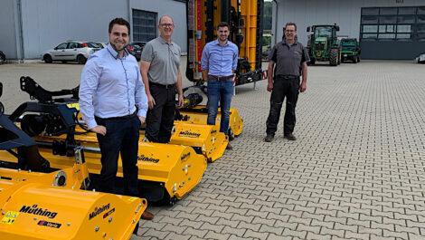 Exklusive Partnerschaft zwischen Robert Aebi Landtechnik und Müthing
