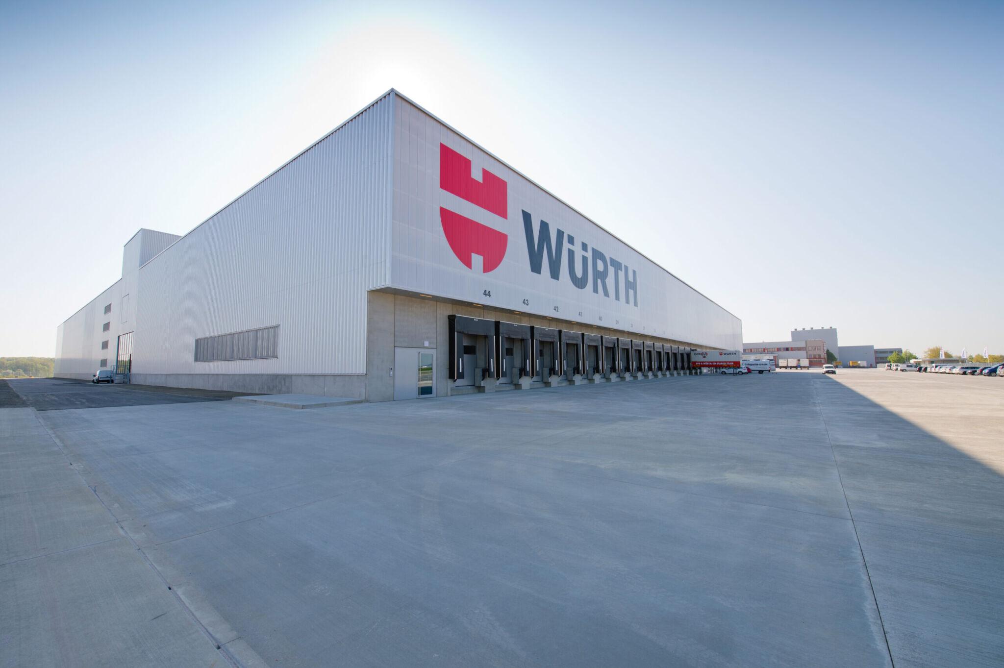 Würth Gebäudefassade |copyright: Würth