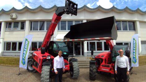 Ahern Deutschland wird Importeur für Faresin Teleskoplader