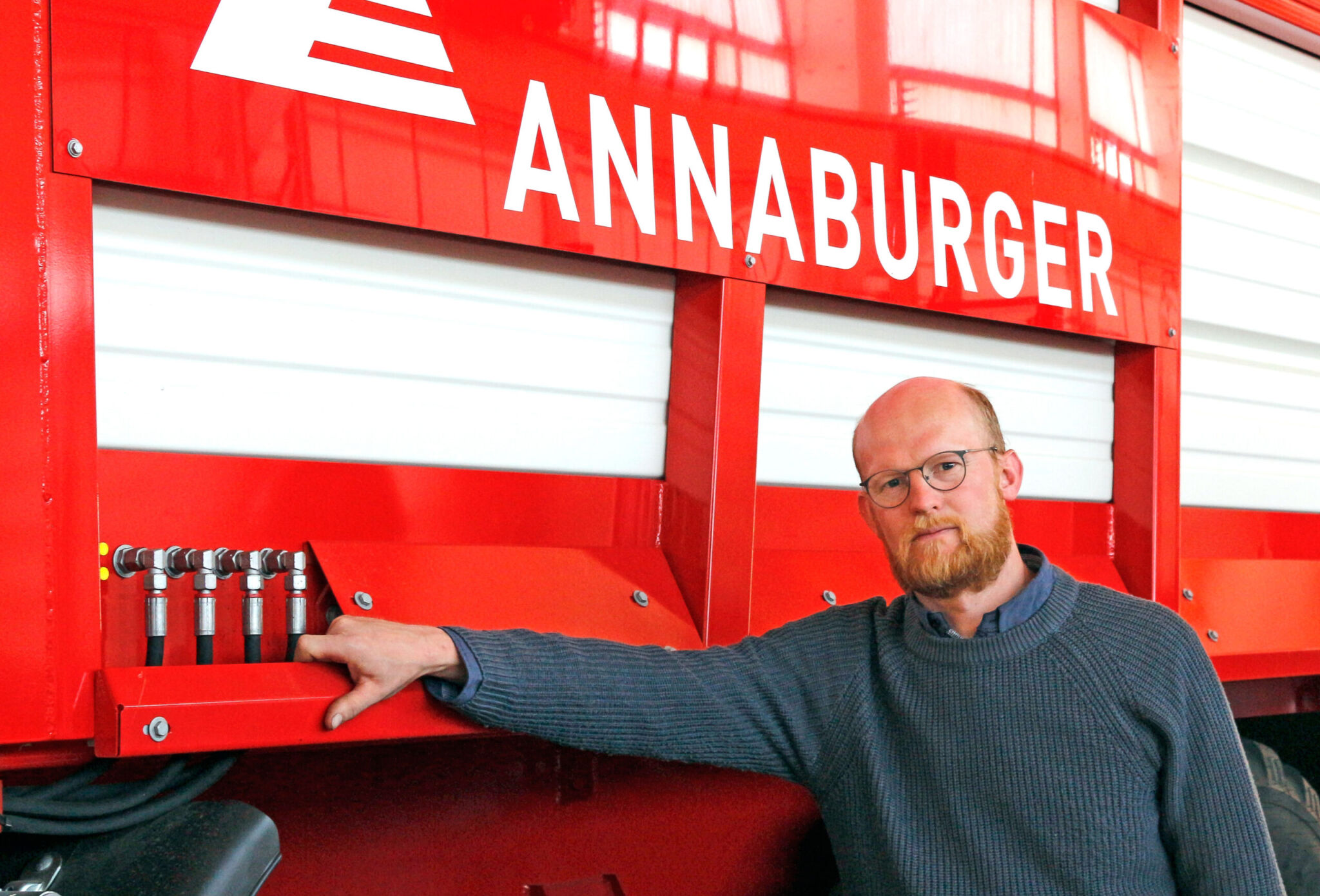Jan Schulz Annaburger |copyright: Annaburger Nutzfahrzeuge GmbH