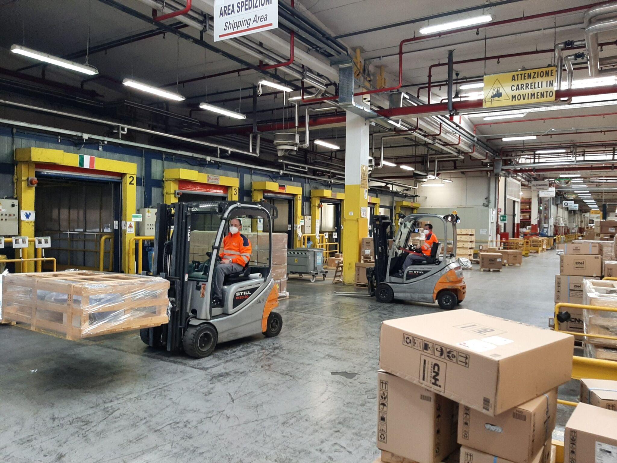 CNH Industrial Depot|copyright: Werkbild