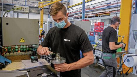 Agco Fendt fährt Produktion wieder hoch