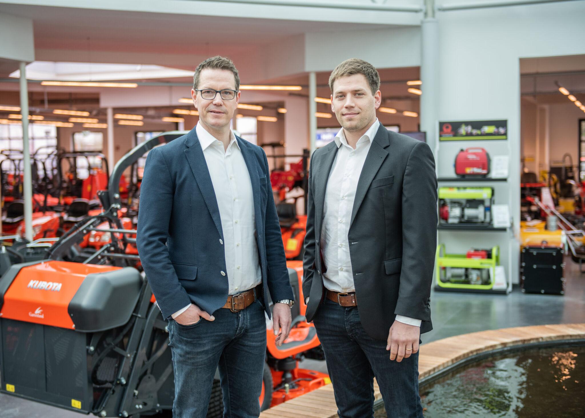 Ralf-Peter Matthies und David Schulze Hillert copyright: Fricke
