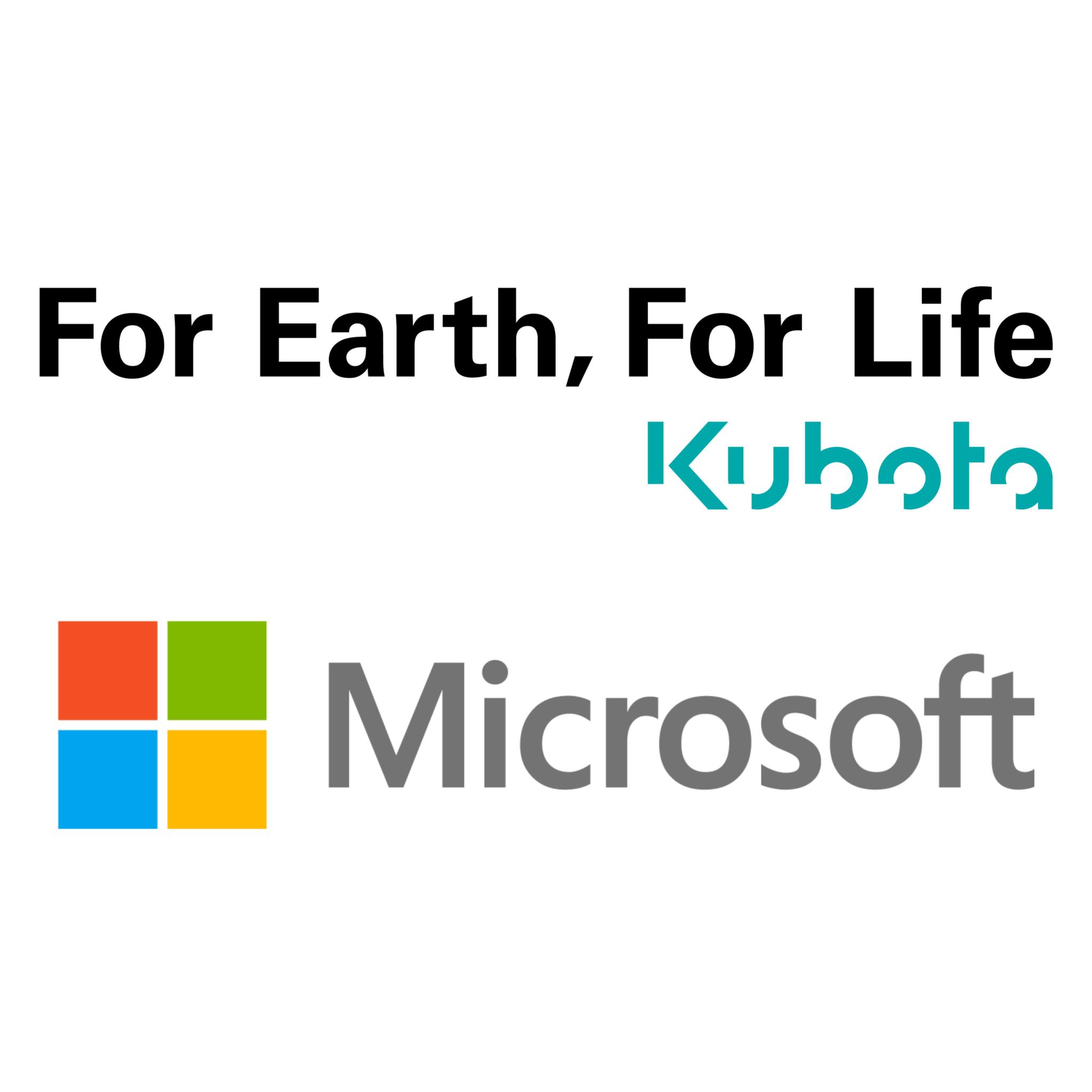 Partnerschaft Microsoft und Kubota|copyright: Werkbild