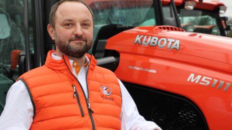 Neuer Regional Sales Manager im Kubota-Team
