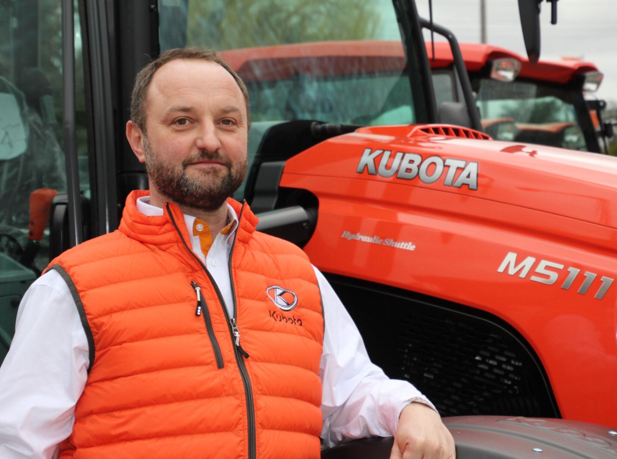 Mark Sticotti – Kubota |copyright: Kubota