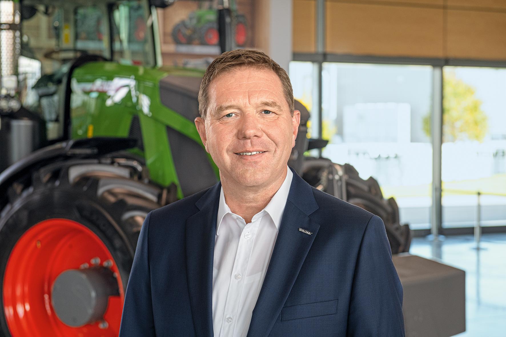 Christoph Gröblinghoff, Vorsitzender der AGCO/Fendt Geschäftsführung|copyright: AGCO Fendt