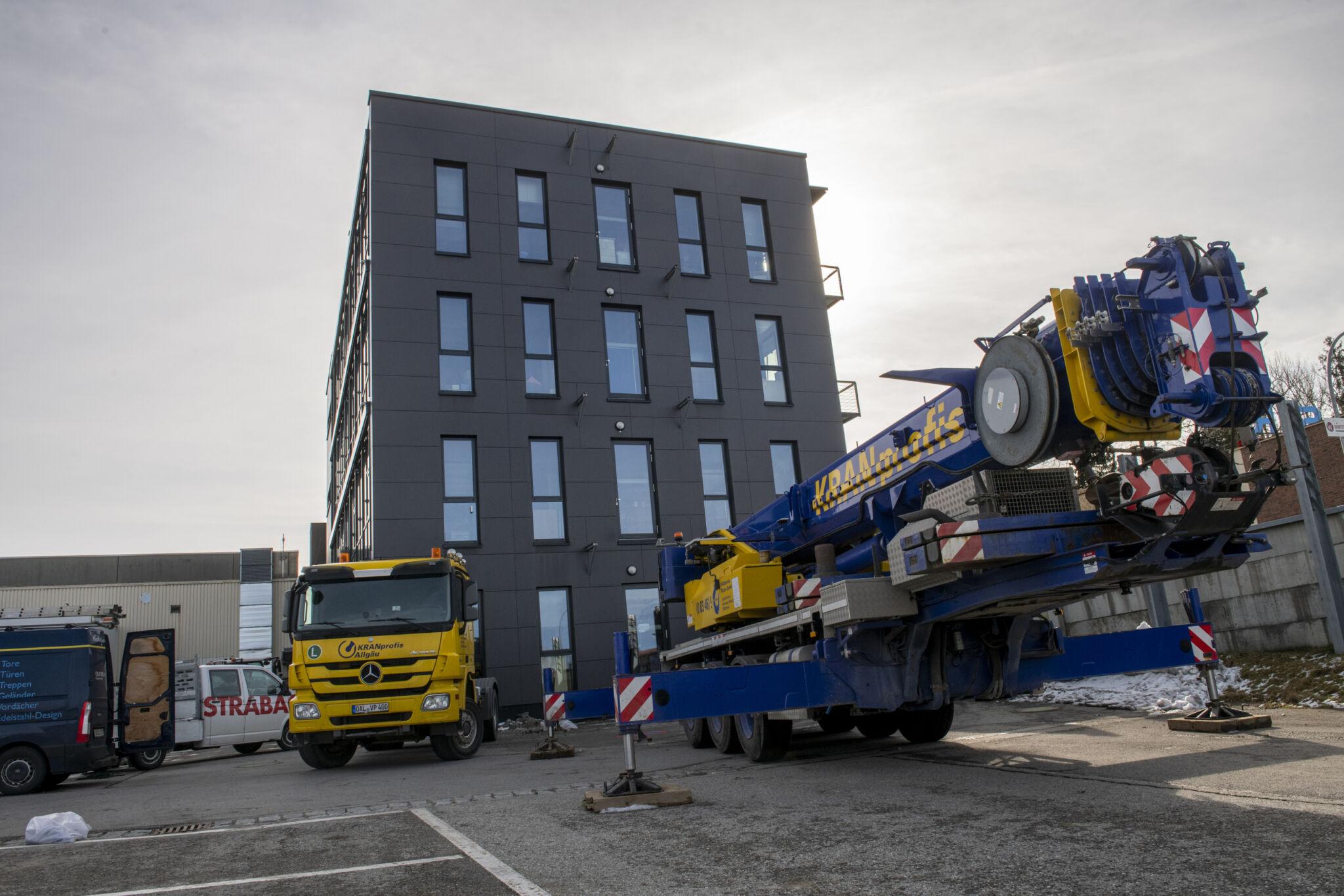 Fendt neues Gebäude|copyright: Werkbild