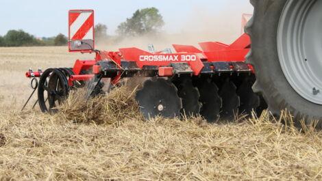 Knoche präsentiert neue Kurzscheibenegge Crossmax