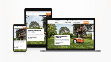 Stihl eröffnet neuen Online-Shop