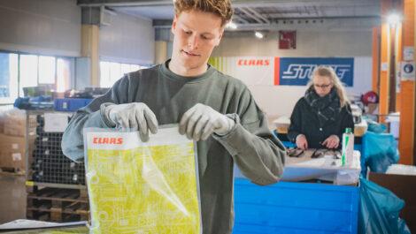 Claas Ersatzteillogistik schafft Studentenjobs