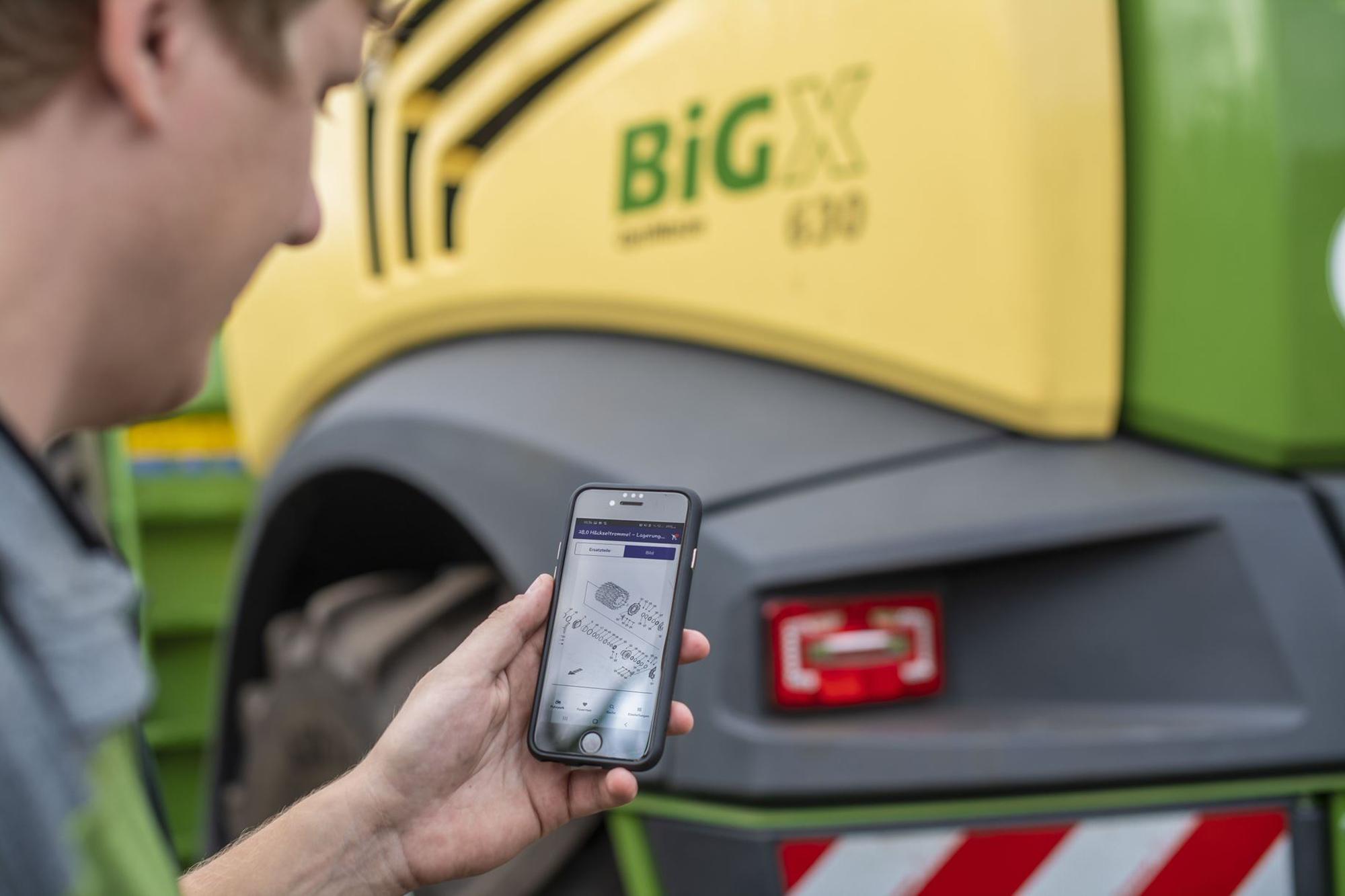 Krone agroparts Mobile App |copyright: Krone