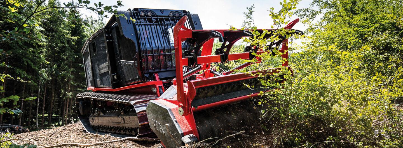 Forstmulcher und -fräsen: Unterschiede zur Agrar-Technik