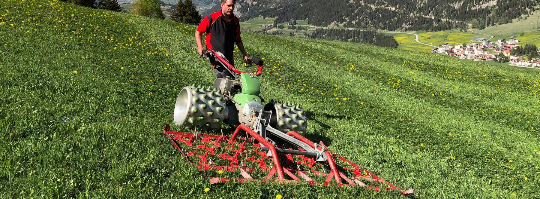 Rapid präsentiert neue Wiesenschleppe