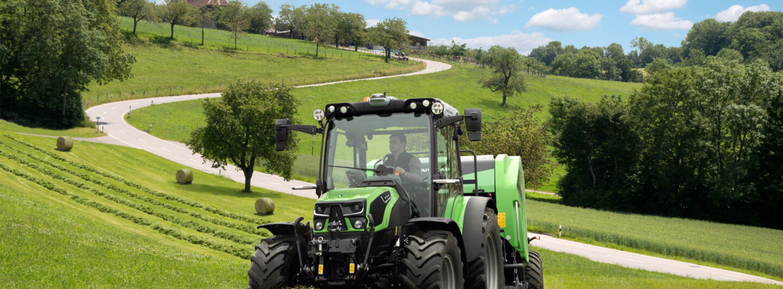 Deutz-Fahr präsentiert neue Traktor-Serie 5D TTV