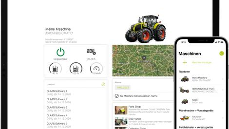 Claas erneuert digitale Kundenplattform connect