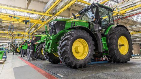 John Deere: Nettogewinn im ersten Quartal verdoppelt