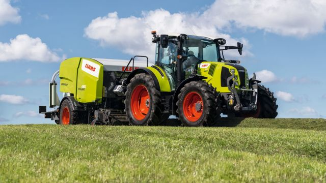 Claas Arion 400: Stufe V-Update und neues Topmodell