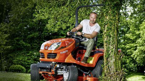 Verlängerte Gewährleistung Kubota Care für Rasen- und Grundstückspflege-Maschinen