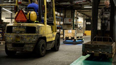 MiR: Mobile Roboter in der Landmaschinenherstellung
